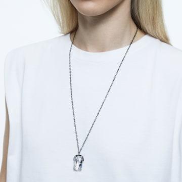 Harmonia 鏈墜, 超大Swarovski水晶, 白色, 多種金屬潤飾 - Swarovski, 5600042