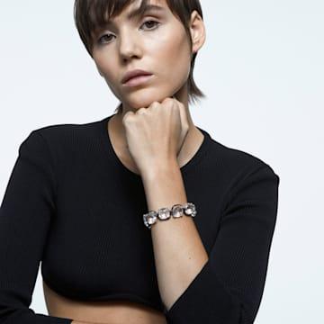 Harmonia 手链, 枕形切割仿水晶, 白色, 多种金属润饰 - Swarovski, 5600047
