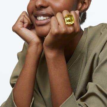 Lucent 个性戒指, 黄色 - Swarovski, 5600226