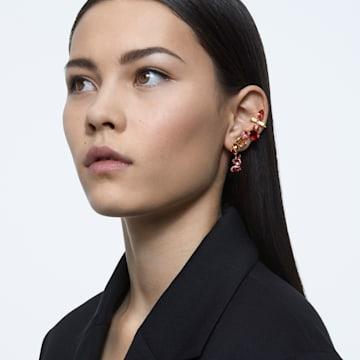 Gema 夹式耳环, 流光溢彩, 镀金色调 - Swarovski, 5600762