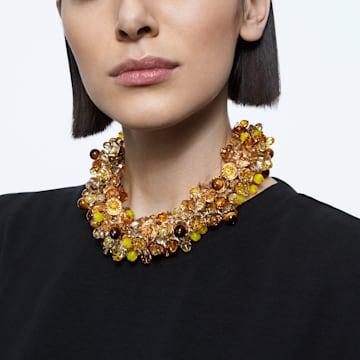 Colier Somnia, Multicoloră, Placat cu auriu - Swarovski, 5601520