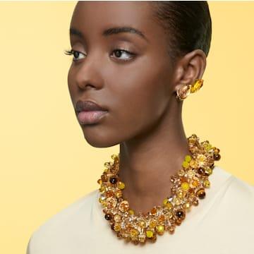 Collar Somnia, Multicolor, Baño tono oro - Swarovski, 5601520