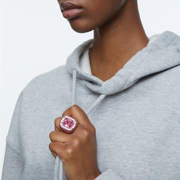 Dulcis 鸡尾酒戒指, 粉红色 - Swarovski, 5601579