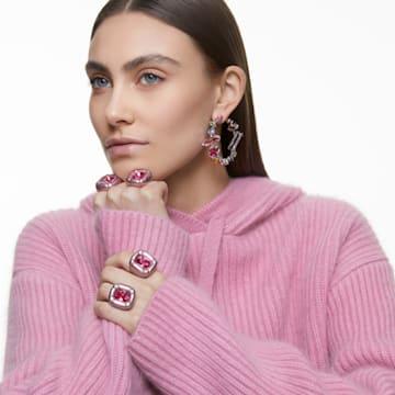 Dulcis 个性戒指, 粉红色 - Swarovski, 5601579