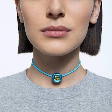 Dulcis necklace, Blue - Swarovski, 5601586