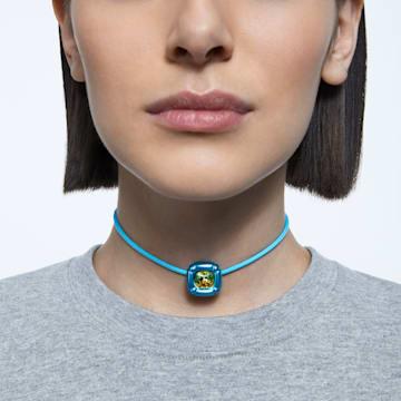 Dulcis nyaklánc, Kék - Swarovski, 5601586