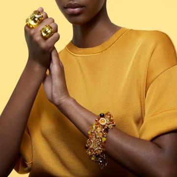 Pulseira Somnia, Multicor, Lacado a dourado - Swarovski, 5610575