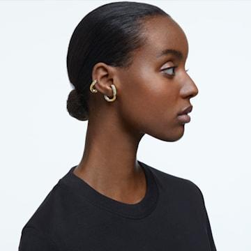 Dextera 耳骨夹, 单个, 套装, 白色, 镀金色调 - Swarovski, 5615734