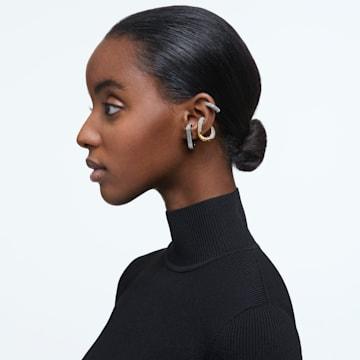 Dextera 耳骨夹, 单个, 套装, 白色, 多种金属润饰 - Swarovski, 5615735