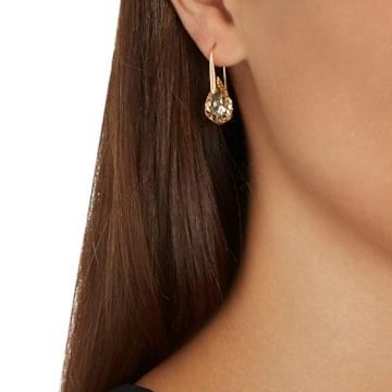 Energic 穿孔耳环, 镀金色调 - Swarovski, 5616263
