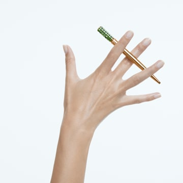 LCT002 ballpoint pen, Green, Gold-tone plated - Swarovski, 5618145