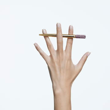 LCT002 圆珠笔, 紫色, 镀金色调 - Swarovski, 5618148