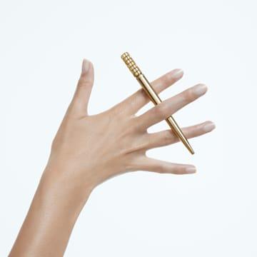 LCT002 圆珠笔, 黄色, 镀金色调 - Swarovski, 5618156
