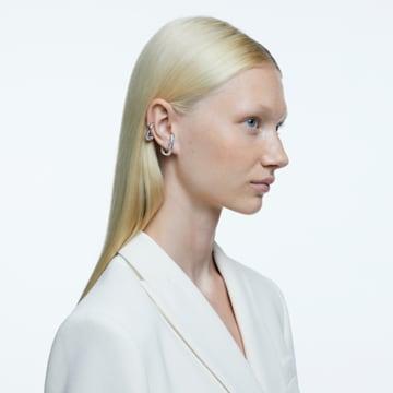 Dextera 耳骨夹, 单个, 套装, 白色, 镀铑 - Swarovski, 5618303