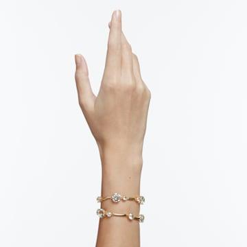 Constella 手镯, 白色, 镀金色调 - Swarovski, 5620395