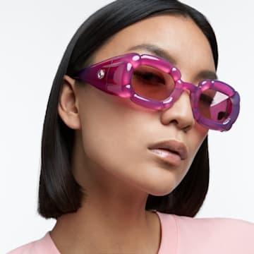 DLC002 sunglasses, Statement, Pink - Swarovski, 5625298