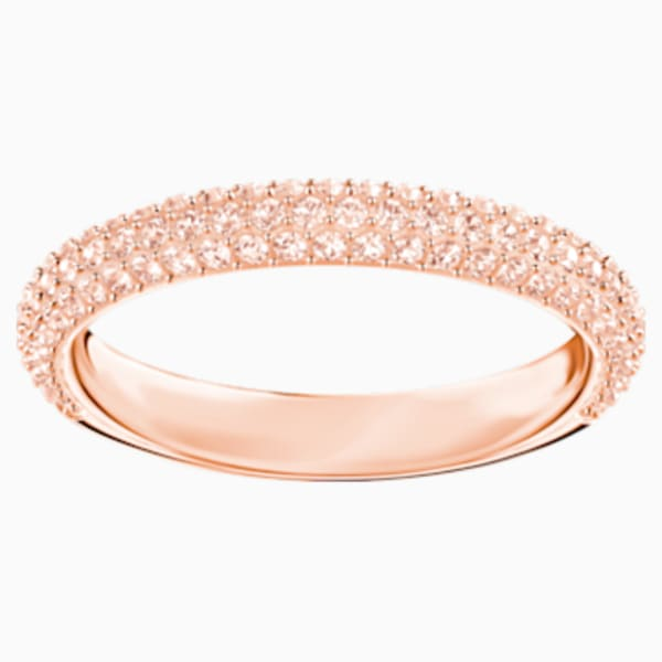 stone-ring--pink--rose-gold-tone-plated-
