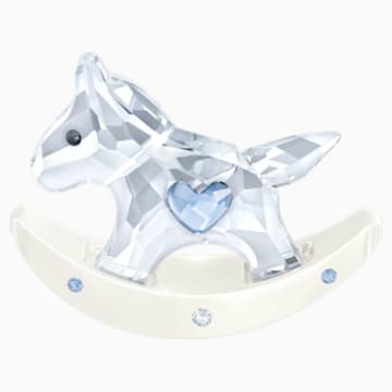 Rocking Horse, Blue - Swarovski, 1194059