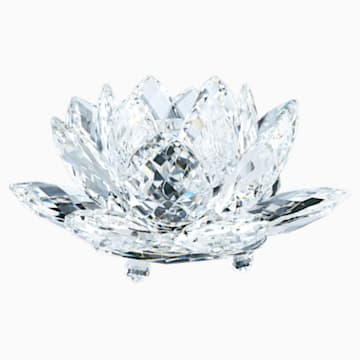 Waterlily Candleholder, large - Swarovski, 119747