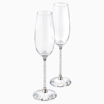 Pahare de șampanie Crystalline (set de 2) - Swarovski, 255678