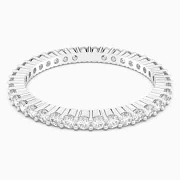 Bague Vittore, blanc, métal rhodié - Swarovski, 5007780