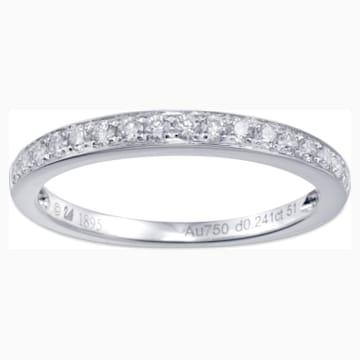 18K金钻石戒指 - Swarovski, 5009643