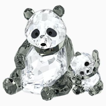 熊猫妈妈及宝宝 - Swarovski, 5063690