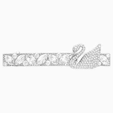Iconic Swan Silver 發卡 - Swarovski, 5171353