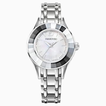 Alegria Uhr, Metallarmband, Perlmutt, Edelstahl - Swarovski, 5188848
