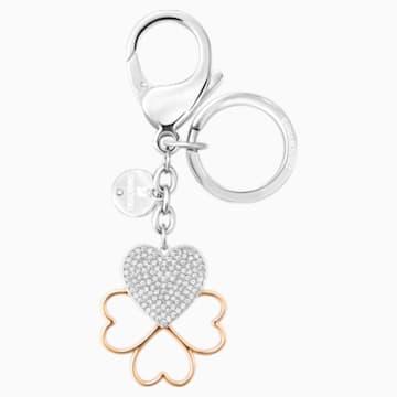 Accessorio per borse Cupid, bianco, placcatura mista - Swarovski, 5201645