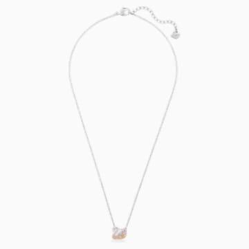 Swarovski Iconic Swan 链坠, 彩色设计, 镀铑 - Swarovski, 5215038