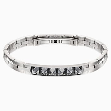 Fire Bracelet, Gray, Mixed metal finish - Swarovski, 5217241