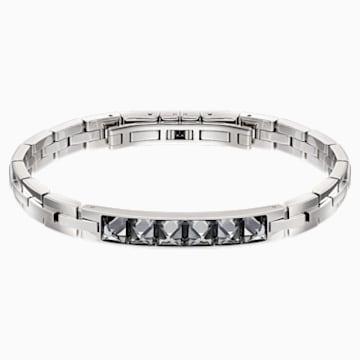 Fire Bracelet, Grey, Mixed metal finish - Swarovski, 5217241