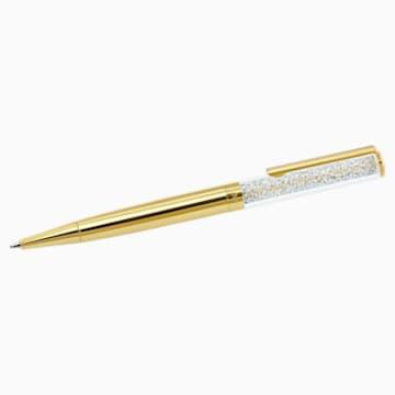 Penna a sfera Crystalline, Placcato oro tenue - Swarovski, 5224389