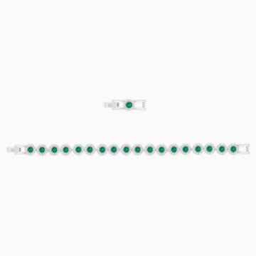 Angelic Armband, grün, Rhodiniert - Swarovski, 5237769