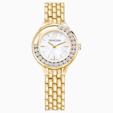 Lovely Crystals 手錶, 金屬手鏈, 金色色調PVD - Swarovski, 5242895