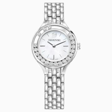 Lovely Crystals-horloge, Metalen armband, Roestvrij staal - Swarovski, 5242901