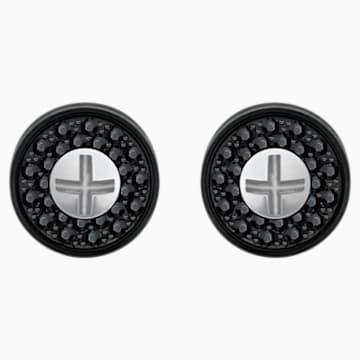 Gear Cufflinks, Multi-colored, Mixed metal finish - Swarovski, 5252377