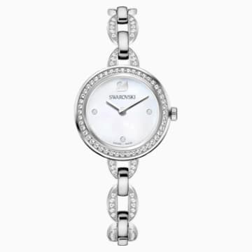 Aila Mini 手錶, 金屬手鏈, 不銹鋼 - Swarovski, 5253332
