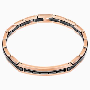 Guard Bracelet, Gray, Mixed metal finish - Swarovski, 5266137