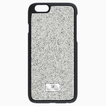 Glam Rock Gray Coque rigide pour smartphone avec cadre amortisseur, iPhone® 6 - Swarovski, 5268127