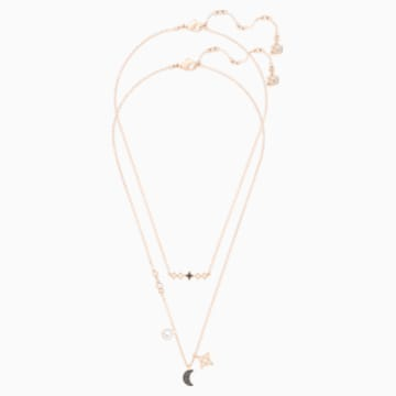 Swarovski Symbolic Moon Комплект подвесок, Многоцветный Кристалл, Отделка из разных металлов - Swarovski, 5273290
