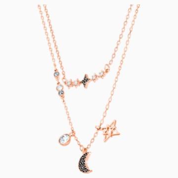 Swarovski Symbolic Moon 項鍊套裝, 多色設計, 多種金屬潤飾 - Swarovski, 5273290