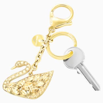 Swan Lake Bag Charm, Gold Tone - Swarovski, 5278386