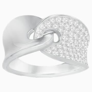 Guardian Ring, weiss, rhodiniert - Swarovski, 5279057