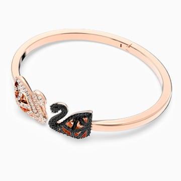 Facet Swan 手镯, 彩色设计, 多种金属润饰 - Swarovski, 5289535