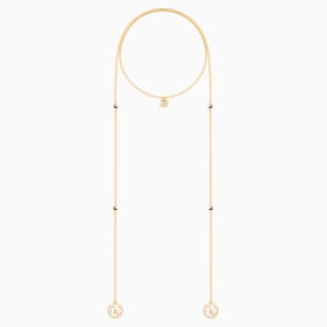 Except 項鏈, 粉紅色, 鍍金色色調 - Swarovski, 5290594