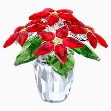 Mikulásvirág, nagy - Swarovski, 5291024