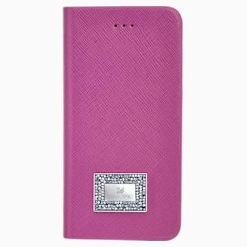 Versatile 掀蓋式手機殼(帶保護邊框), Samsung Galaxy S® 7, 粉紅色 - Swarovski, 5292421