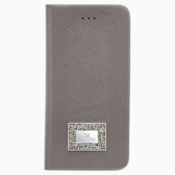 Versatile 掀盖式手机壳(带保护边框), Samsung Galaxy S® 7, 灰色 - Swarovski, 5292422